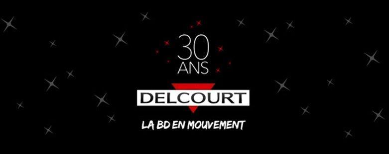 Delcourt 30 ans visuel